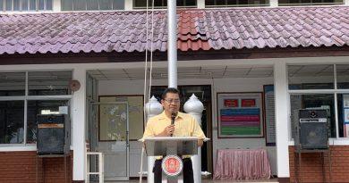 วันพุธ ที่ 1 กรกฎาคม 2563 วิทยาลัยการอาชีพบ้านโฮ่ง เปิดทำการเรียนการสอนวันแรก